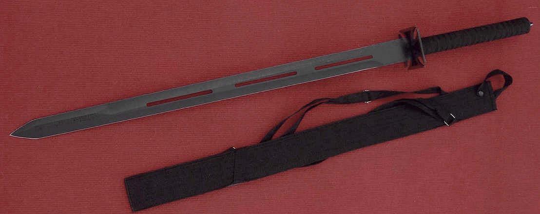 Ninja-Schwert mit R�ckenscheide