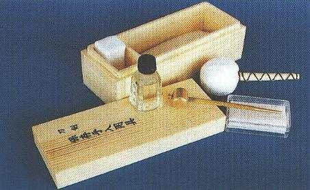 Schwertpflegeset in Holzkiste Deluxe