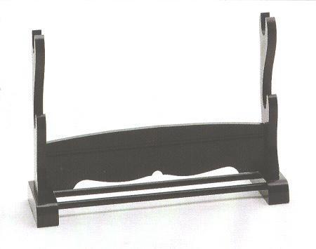 Tischständer für zwei Samuraischwerter<br>